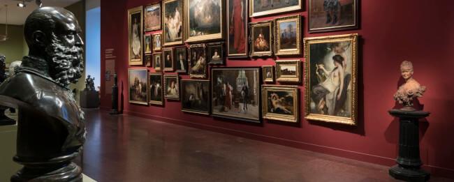 Remekművek a 19. századi gyűjteményben ? önkéntesek tárlatvezetése angolul Magyar Nemzeti Galéria