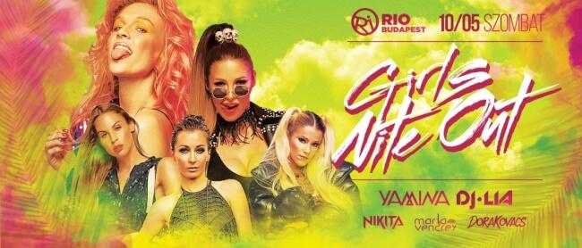 Girls Nite Out Rio Budapest