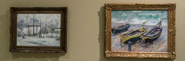 A Válogatás a Szépművészeti Múzeum 1800 utáni Nemzetközi Gyűjteményéből című állandó kiállítás kiemelt művei ? önkéntesek tárlatvezetése angolul Magyar Nemzeti Galéria