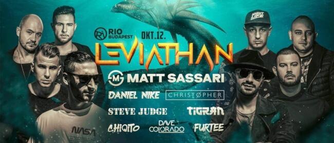 Leviathan pres: Matt Sassari Rio Budapest