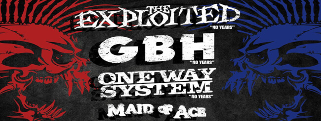 British Punk Invasion III. - Budapest (HUN) Barba Negra