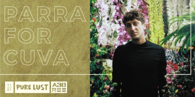 Pure Lust presents: Parra For Cuva (DE), Daniel Santiago, Daniel Ban, Marcello Baptis A38 Hajó