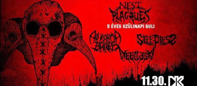 Nest of Plagues, A Karma Brings, Sleepless, Needless Dürer Kert