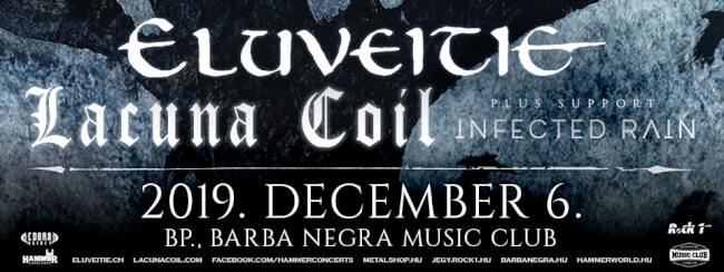ELUVEITIE (CH) - LACUNA COIL (IT) Barba Negra