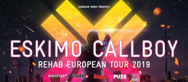 Eskimo Callboy (DE) - REHAB European Tour 2019 Dürer Kert
