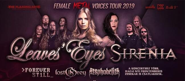 Female Metal Voices Tour 2019 Dürer Kert