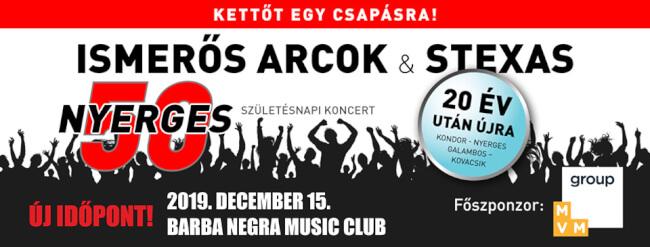 ISMERŐS ARCOK - Nyerges 50 Barba Negra
