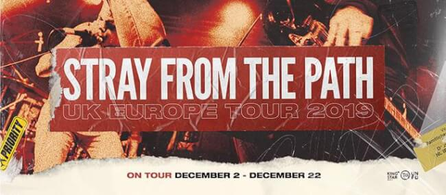 Stray From The Path (US), The Devil Wears Prada, Gideon, Loathe Dürer Kert