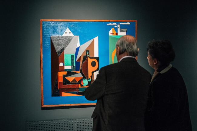Tárlatvezetés a Csak tiszta forrásból. Hagyomány és absztrakció Korniss Dezső (1908-1984) művészetében című kiállításban Magyar Nemzeti Galéria