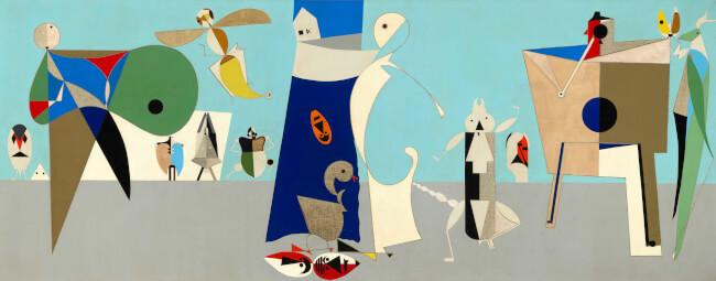 Gyerekszemmel- Tárlatvezetés gyerekeknek a Csak tiszta forrásból. Hagyomány és absztrakció Korniss Dezső (1908-1984) művészetében című kiállításban Magyar Nemzeti Galéria