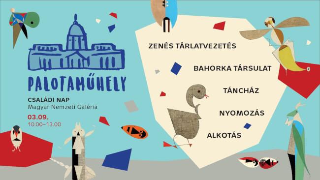 Palotaműhely ? Tücsöklakodalom: Családi nap kicsiknek és nagyoknak Magyar Nemzeti Galéria