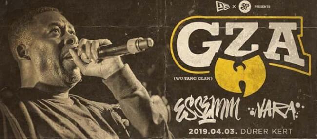 New Era Hungary x BP Clothing presents: GZA (Wu-Tang Clan) Dürer Kert