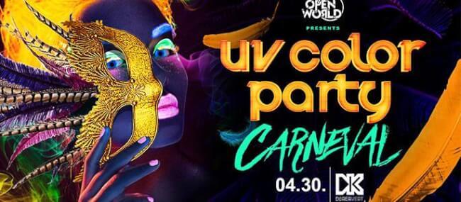UV Color Party - Carneval Dürer Kert