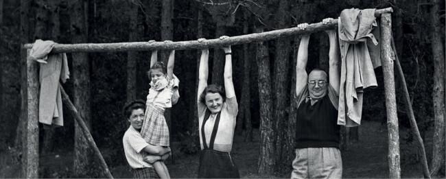 Kurátori tárlatvezetés a Minden múlt a múltam #huszadikszázad#privátfotó#Fortepan kiállításban Magyar Nemzeti Galéria