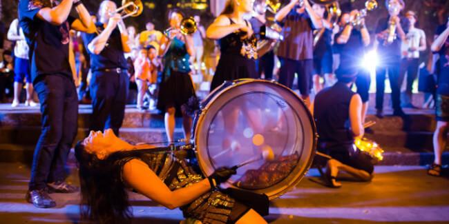 Mission Delirium Brass Band (US) A38 Hajó