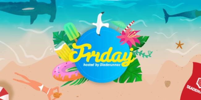 Bladerunnaz presents Friday A38 Hajó