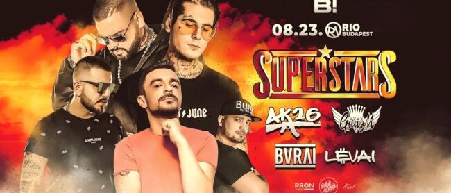 SuperStars Rio Budapest