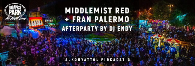 Middlemist Red + Fran Palermo After by Endy Budapest Park