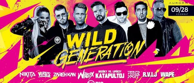 Wild Generation Rio Budapest