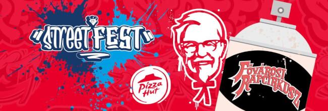 KFC Street Fest - Fővárosi Rapcirkusz Budapest Park