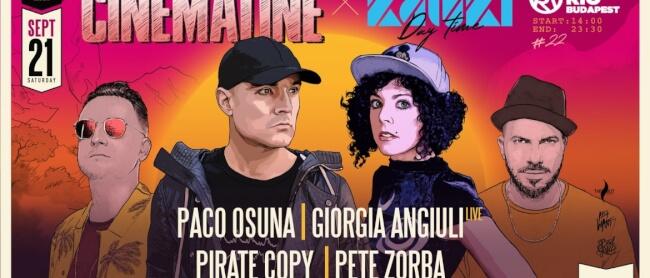 Cinematiné 022 x Kaluki Edition Rio Budapest