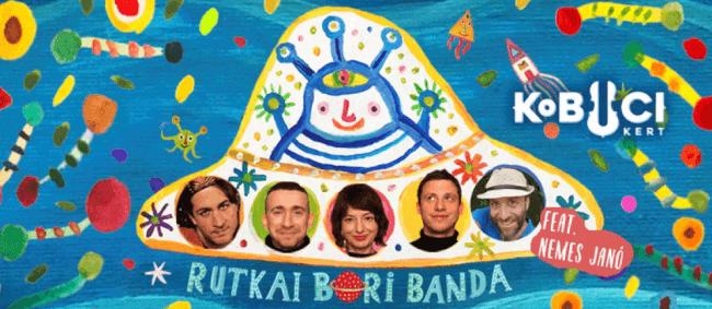 Gyerekkoncertek a Kobuciban // Rutkai Bori Banda Kobuci Kert