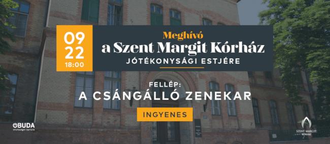 A Szent Margit Kórház Jótékonysági Estje Kobuci Kert