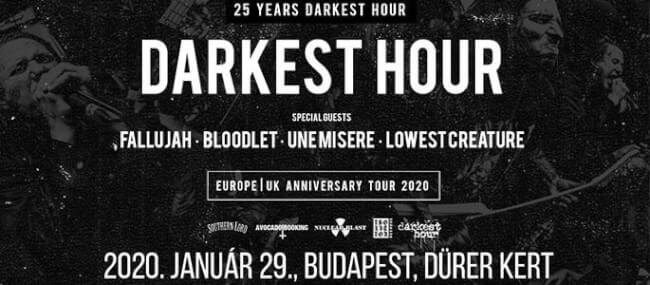 Darkest Hour: 25th Anniversary Tour Dürer Kert