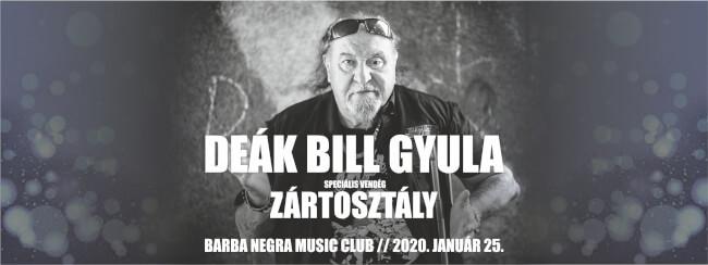 DEÁK BILL GYULA Barba Negra