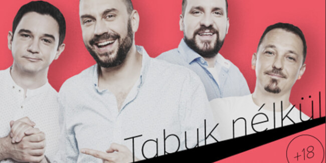 Tabuk nélkül (18) – Benk Dénes, Csenki Attila, Felméri Péter, Tóth Edu A38 Hajó