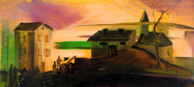 Kurátori tárlatvezetés a Kihűlt világ. Farkas István (1887-1944) művészete című kiállításban Magyar Nemzeti Galéria