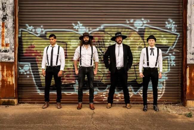 A New Beat ?s a D?rer Kert bemutatja: The Dead South Akvárium Klub