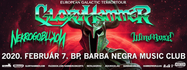 GLORYHAMMER - Early Entry Ticket Barba Negra