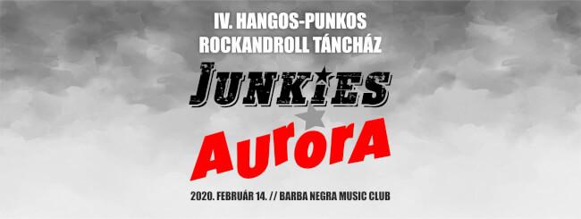 JUNKIES | AURORA Barba Negra
