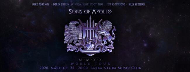 SONS OF APOLLO Barba Negra