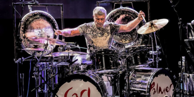 Carl Palmer Band (UK) A38 Hajó