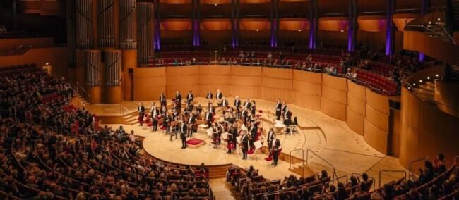 A Kölni Filharmónia közvetítése Müpa Budapest