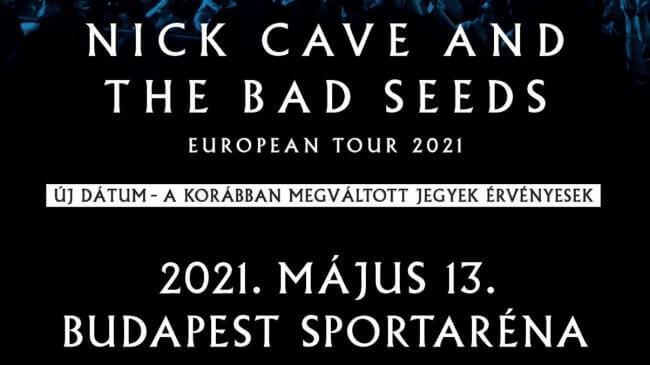 Nick Cave and the Bad Seeds Papp László Budapest Sportaréna
