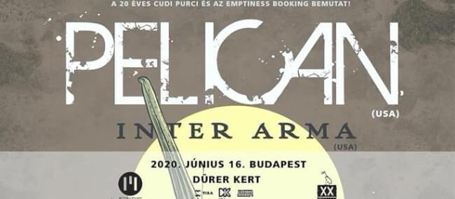 Pelican (US), Inter Arma (US) Dürer Kert