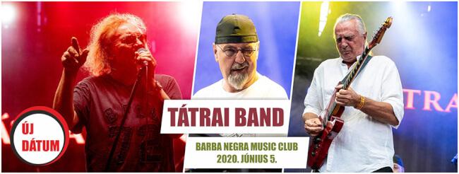 TÁTRAI BAND Barba Negra Track