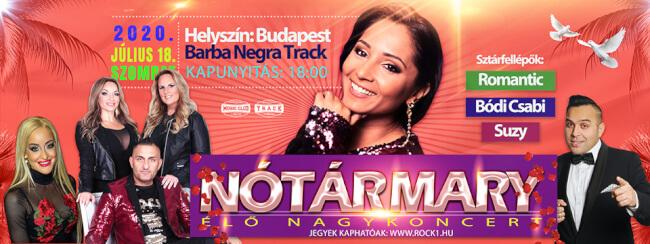 NOTÁR MARY Barba Negra Track