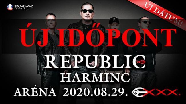 REPUBLIC 30 Papp László Budapest Sportaréna