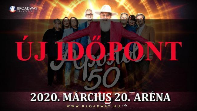 APOSTOL 50 jubileumi koncert Papp László Budapest Sportaréna