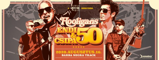 HOOLIGANS Barba Negra Track