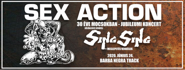 SEX ACTION | SING SING Barba Negra Track