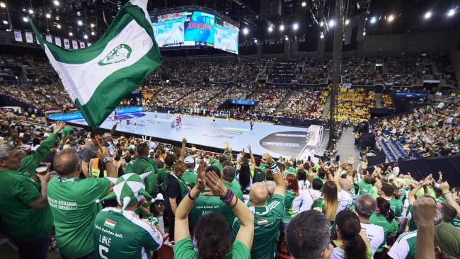 DELO EHF FINAL4 Papp László Budapest Sportaréna