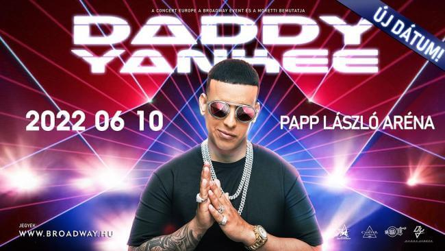 Daddy Yankee ÚJ IDŐPONT Papp László Budapest Sportaréna