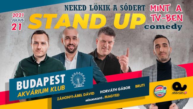 Stand Up Comedy - NEKED LÖKIK A SÓDERT Akvárium Klub