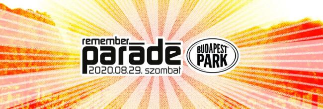 Parádé Remember Budapest Park