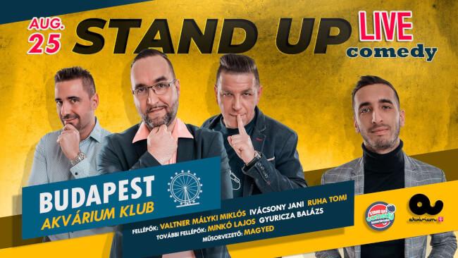 STAND UP COMEDY LIVE Akvárium Klub